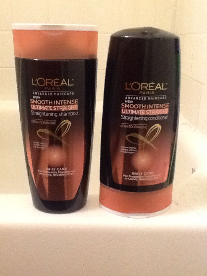 Use this when your washing your hair when your about to straighten it. It reacted which heat to boost straight effect from root to tip.It also penetrates hair fiber with essential protein for healthier hair. (Smooths intense curly hair)