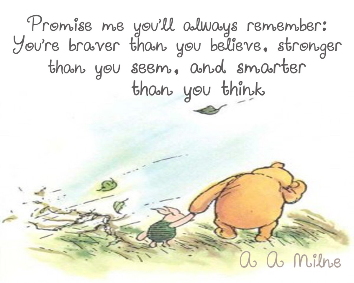 Winnie The Pooh Quotes By Kristen Noelle Musely