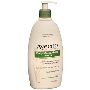 After taking a shower even before you go to bed, and in the mornings you should put lotion on!