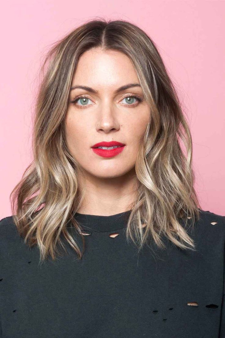 """This is the perfect way to weave blonde tones into brown hair—basically, it's the consummate """"bronde."""""""