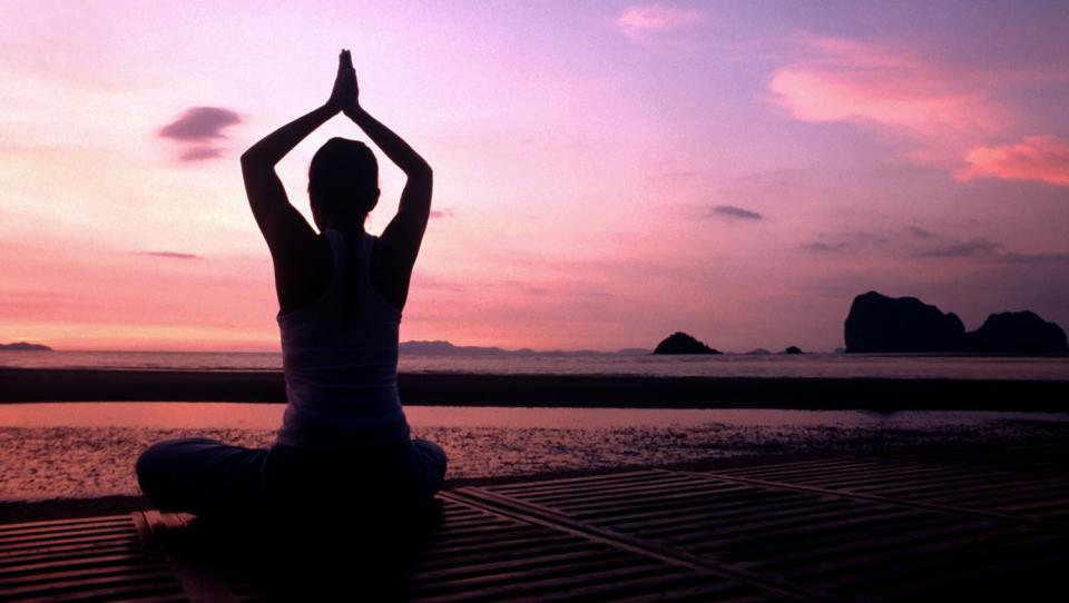 Look up a quick video on Youtube and do. some. yoga. It does wonders. It can be difficult at first, but over time, it fixes your posture and helps you to relieve stress. While doing yoga, remember to take in deep, deep breaths.