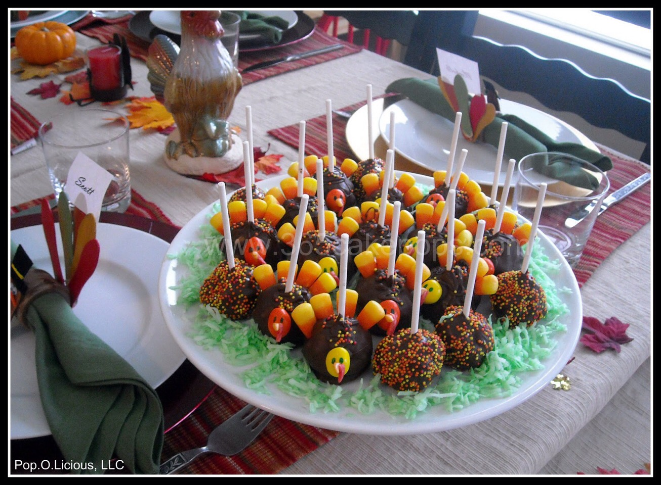 Cake Pop Ideas For Thanksgiving : Musely
