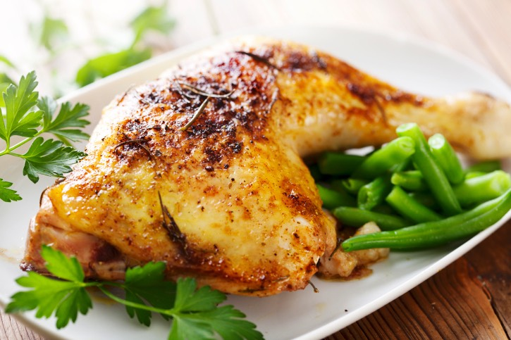 Chicken: Chicken is a great source of lean protein. By placing more protein in your diet, you can lower the amount of carbohydrates you take in while promoting weight loss.