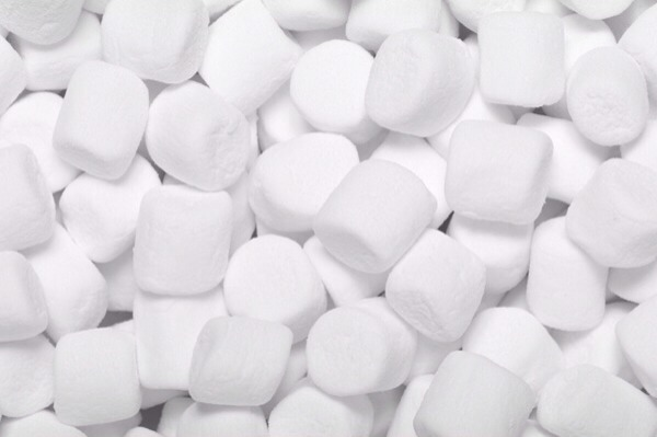 The marshmallow was first made to help relieve a sore throat. Just eat a few of them when your throat is hurting and let them do their magic!