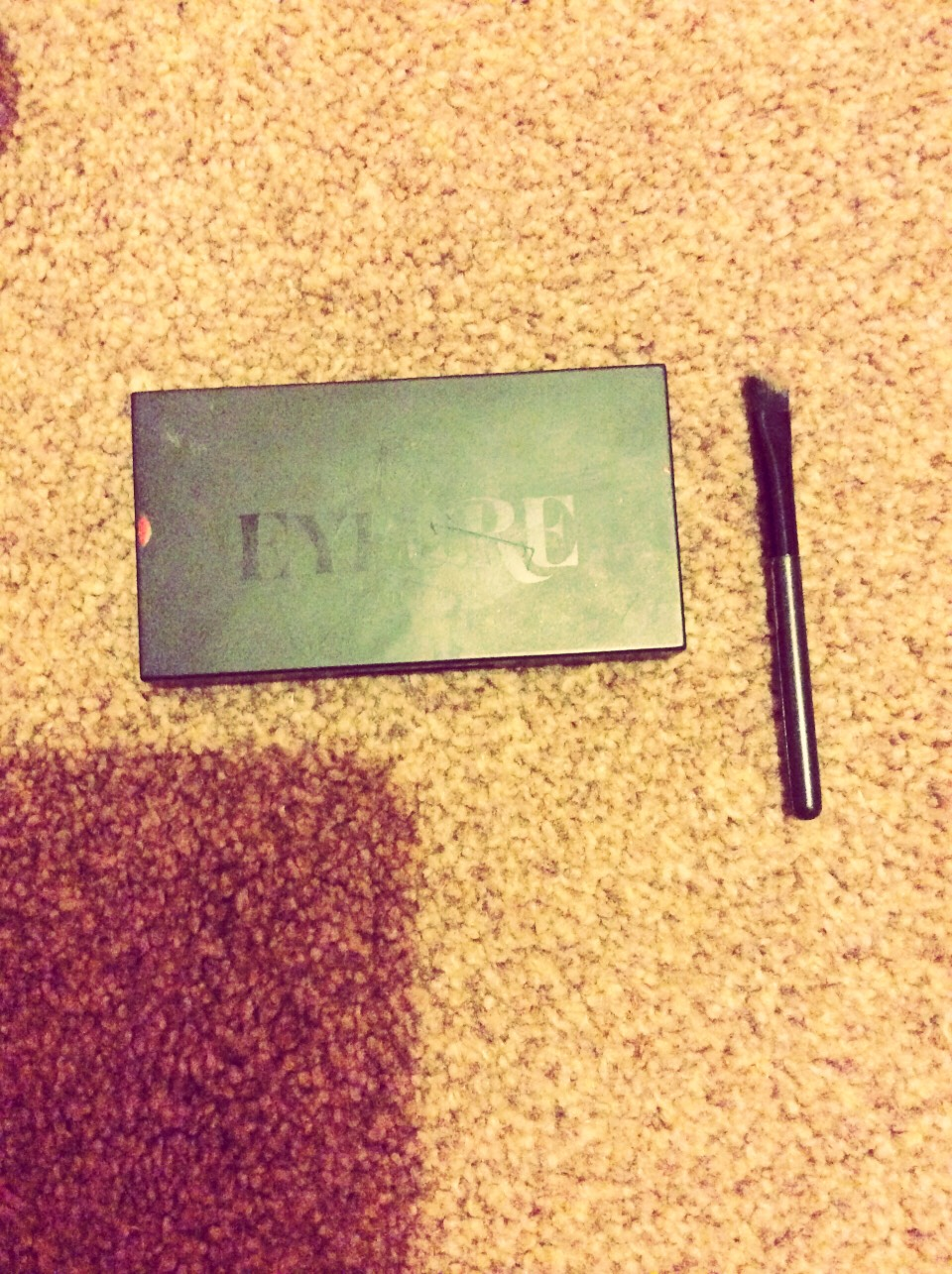 Next I use my eylure eyebrow set to fill in my eyebrows