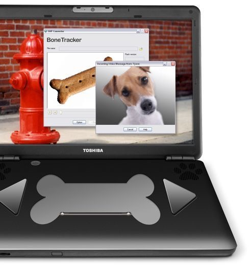 20.PetBook K9 – World's First Laptop for Dogs by Toshiba Now this is a legit laptop for pets designed by Toshiba. You can check out the specs and customization by clicking the above. It also comes with a laptop backpack for your dog. $329.99
