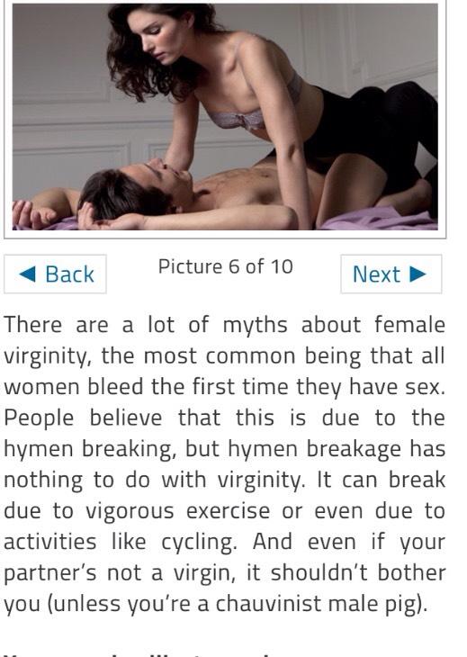 Men first time sex tips
