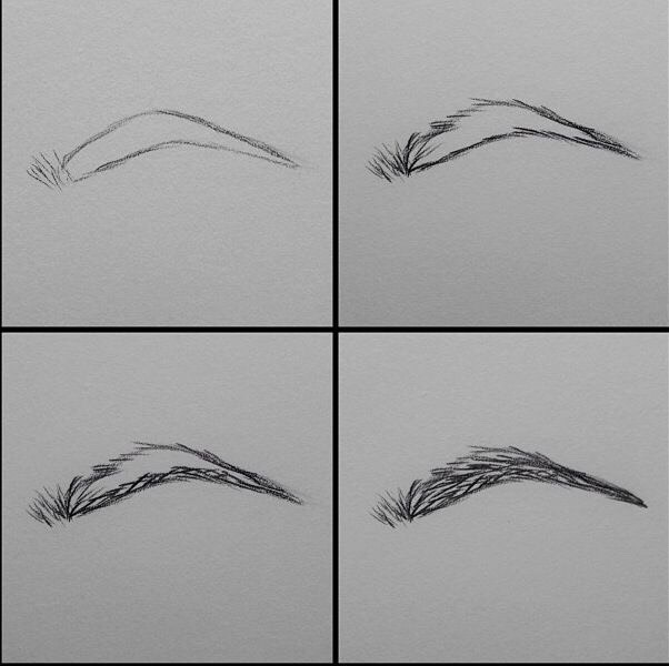 Simple eyebrow tutorial!!