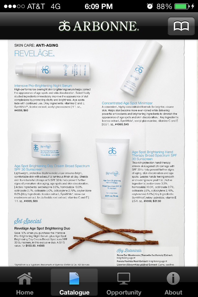 Age spot on your face or hands? These products are great for you.