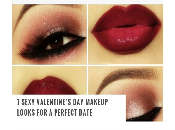 The day of love isn't too far sohere are 7 makeup looks to help you look gorgeous on your date night with your Valentine.Read the captions then tap to view pictures!
