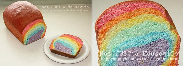 7. Rainbow Bread