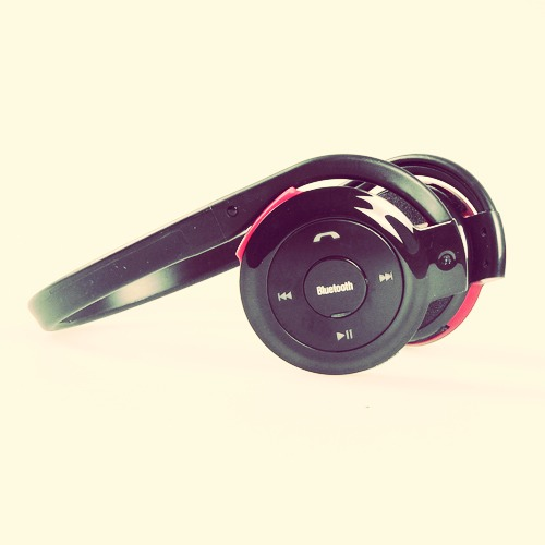 Head phones or ear phones.. These will help you too!!