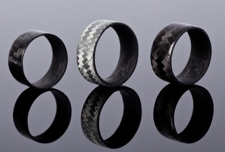From Carbon Fiber rings...