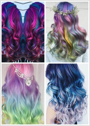 Natural Purple Hair Color 512235 Red And Dye Mixed Will Mixing Blue Make