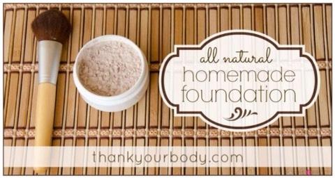 All Natural Homemade Foundation  http://www.thankyourbody.com/homemade-foundation/