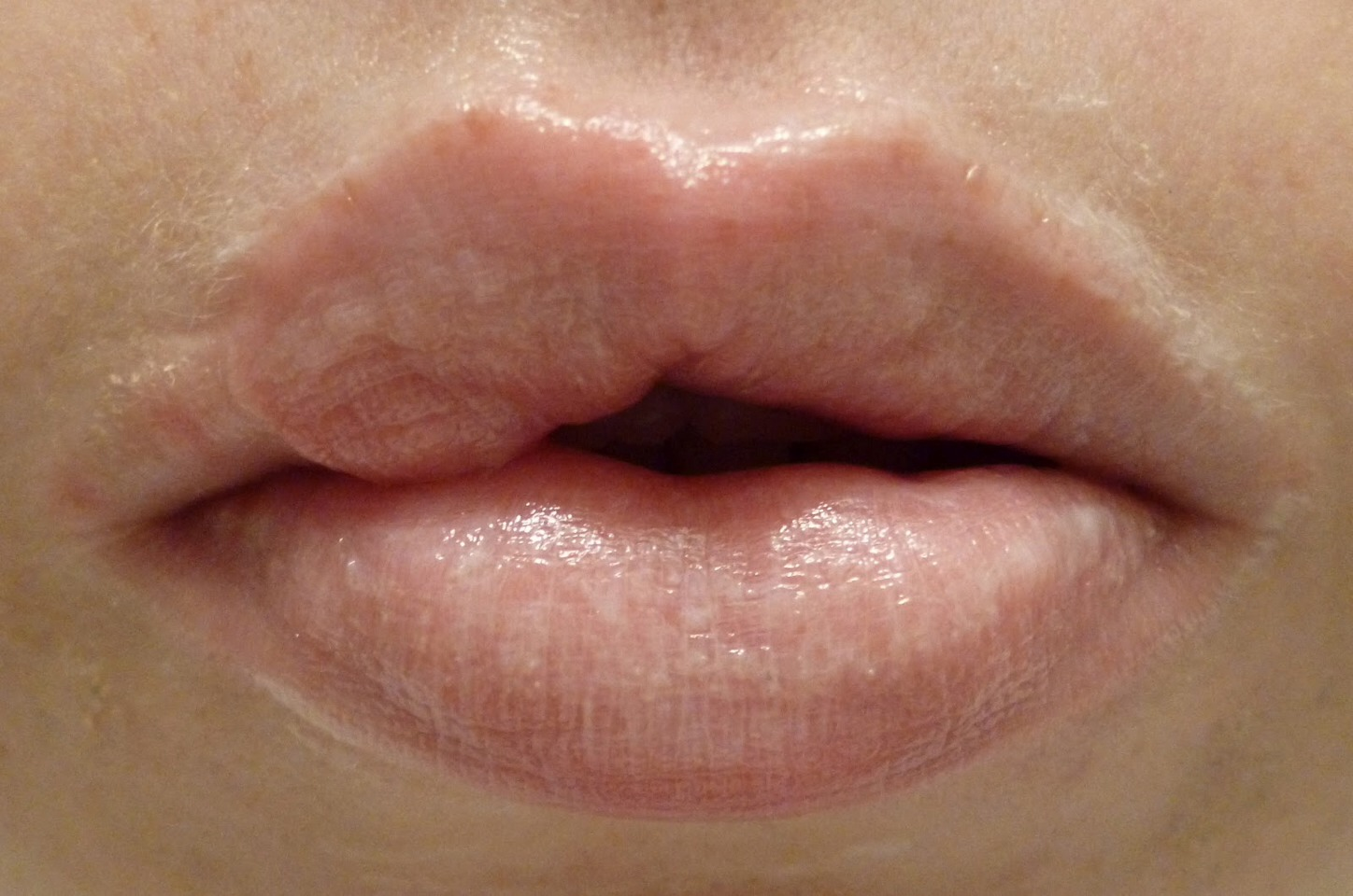 Apply butter to lips every night before sleeping