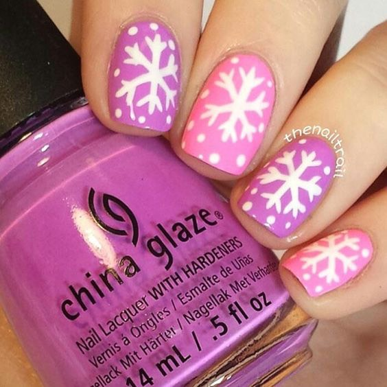 Cute spin on nails