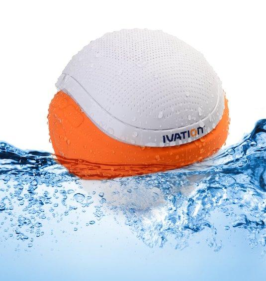13. Waterproof Pool Speakers Keep the music close and party going with these waterproof speakers that hook up to any bluetooth device. They float in water while keeping the speaker above water! How cool!!! Check out here -- http://www.amazon.com/gp/product/B00GZ7PSOA/
