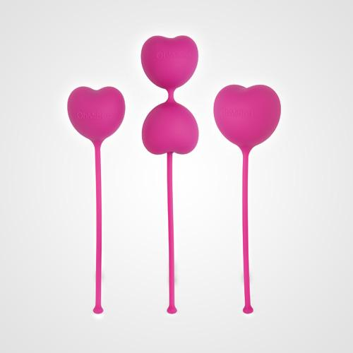 Lovelife Flex Kegel Set  That's right, they're weights…for your vagina. The set includes three graduated weights (35g, 45g, and 85g) to help you tone your PC muscles for stronger orgasms. That's definitely one way to make sure you never skip a workout.