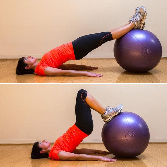 Lying Hamstring Curl: Do three sets of 10 to 15.