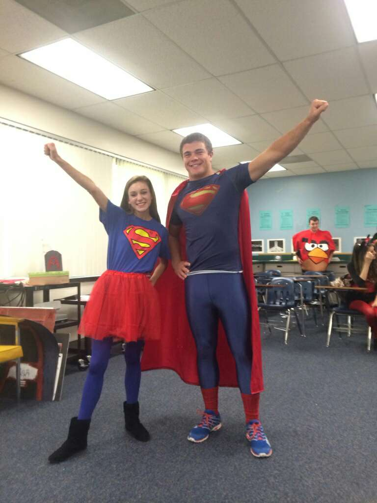 superman and super women