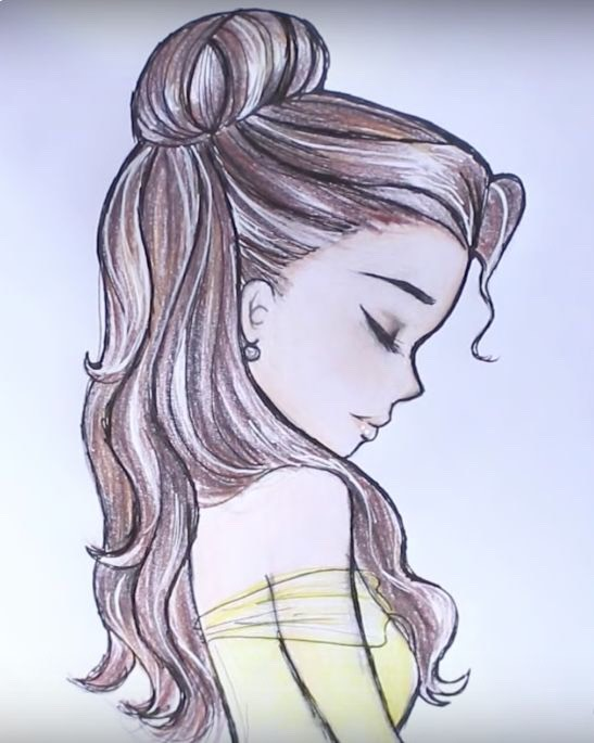 Disney Princess Drawing Ideas by Elizabeth E. - Musely