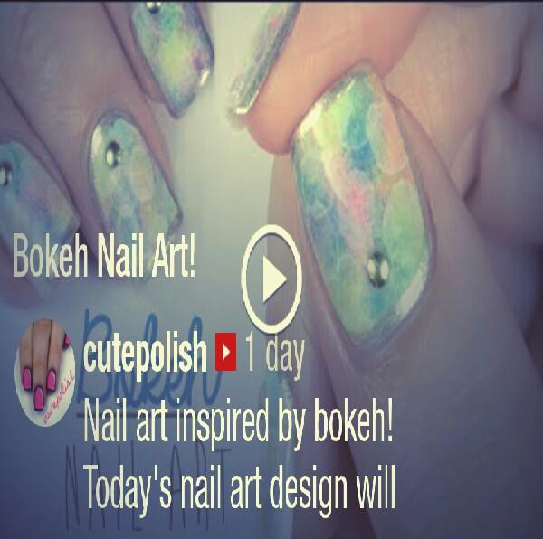 Bokeh Nail Art!: