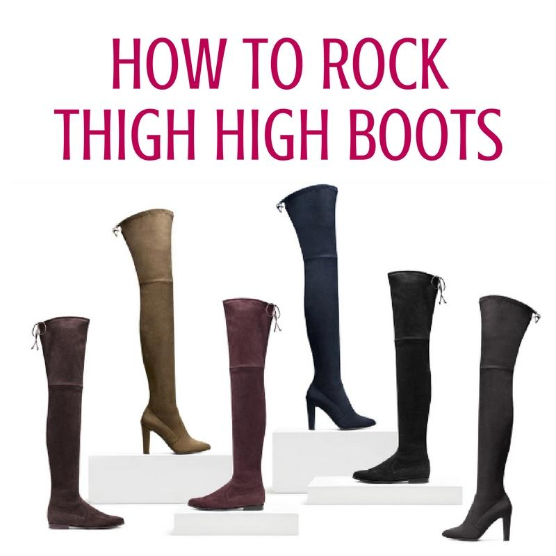 While this fall fashion trend may seem risky, thigh high boots are wearable in so many ways. Keep reading to discover how to style thigh highs with ease!