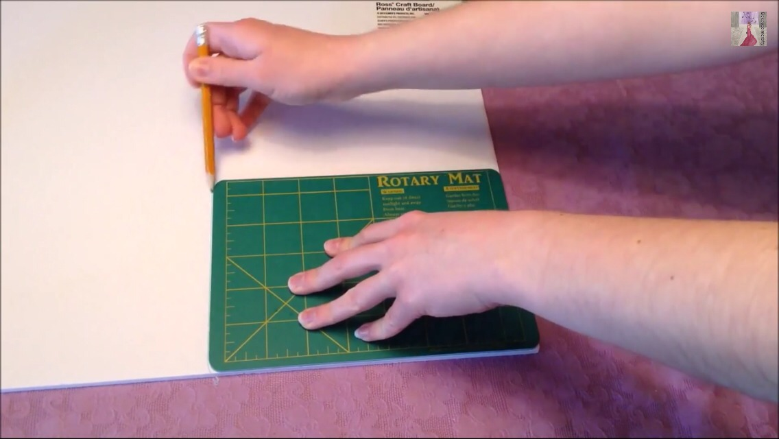 First cut your foam board into the shape you  desire .here it's the shape of the mat