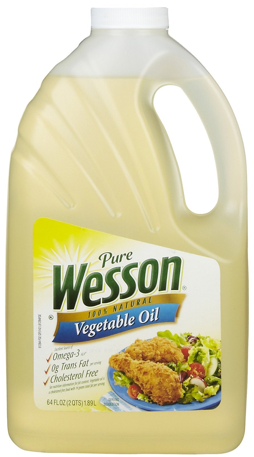 1/4 cup of vegetable or canola oil