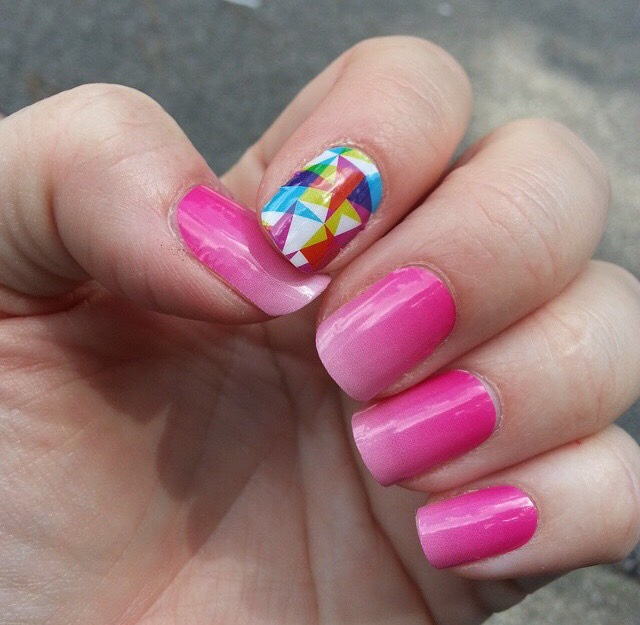 When you can apply Jamberrys Ombre wraps in minutes and not worry about chipping!