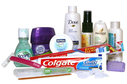 Toiletries: -toothbrush -toothpaste -deodorant -hairbrush -fash wash -lotions -sunscreen -perfume -makeup wipes (along with yourmakeup💄)