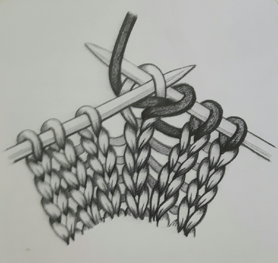knot into the front of the stitch to be invreased into then before slipping it off the needle place the right-hand needle behind the left-hand needle and kmit again into the back of the same stitch slip the original stitch off the left-hand needle
