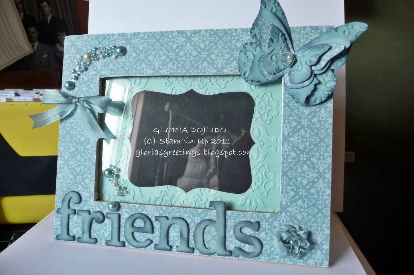Funny photos of you and your friends is cute. It's an accessory and a memory in one