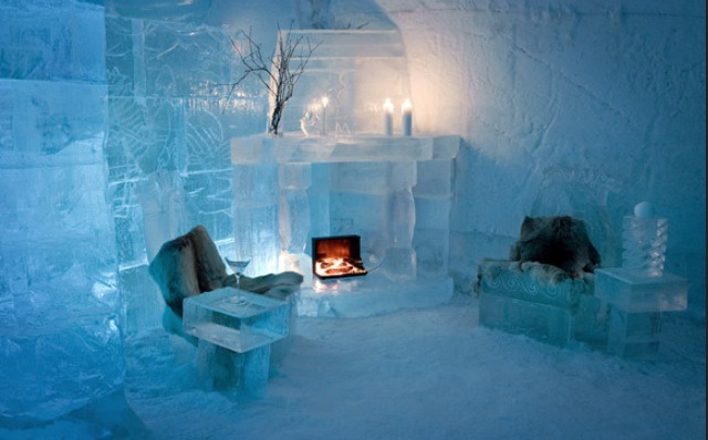 Ice Hotel at Sorrisniva, Alta, Norway