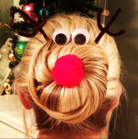 It looks pretty easy to DIY with some pipe cleaners and a red pom pom and some large google eyes.