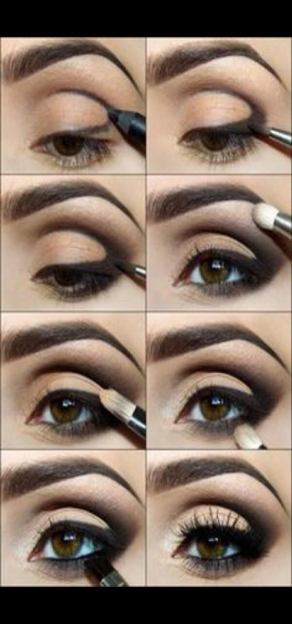 Step-by-Step smokey eye makeup