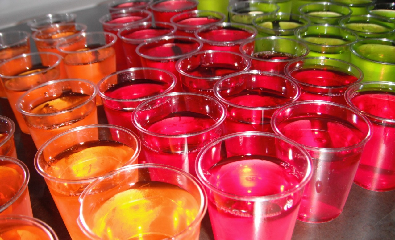 Jello shots are easier to make than you think! And they are great for parties and get togethers!