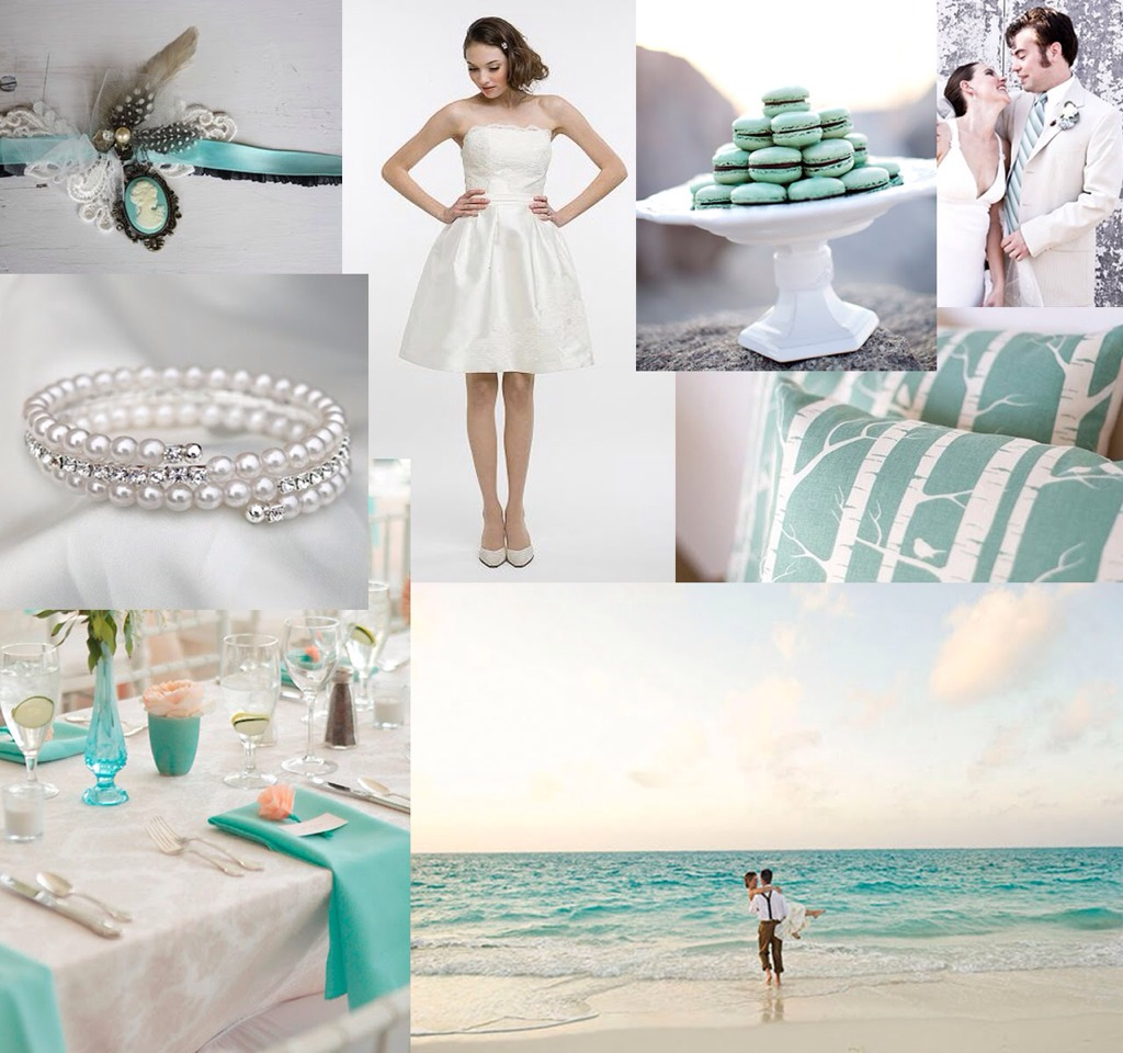 2f4e2cab7150 Tiffany Blue Themed Wedding Ideas! by A Sprecher - Musely