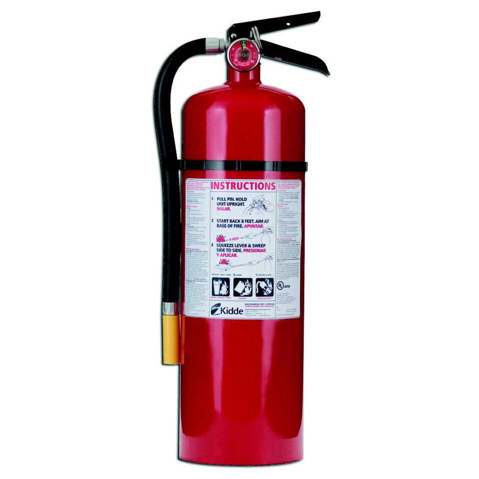 4. Fire extinguisher