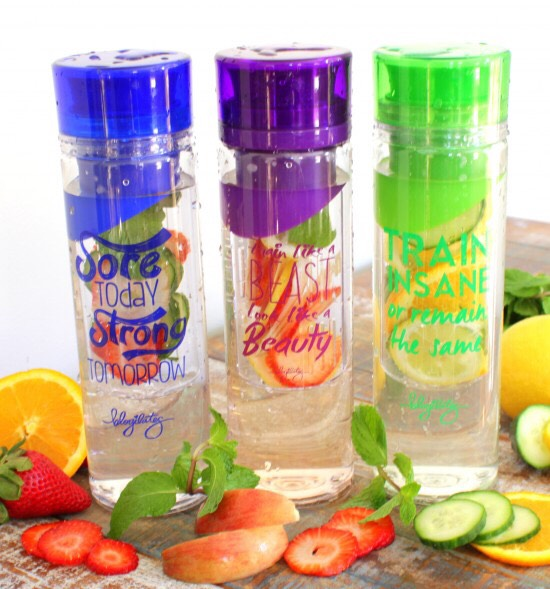 End with a nice detox water