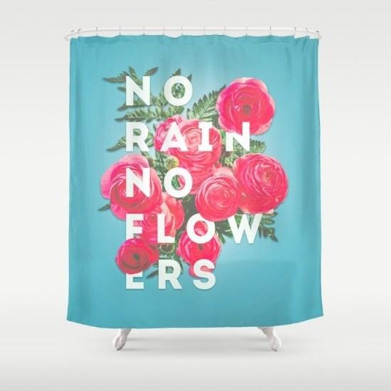 22. This uplifting shower curtain: