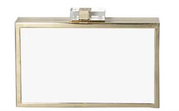 A minimalist bride will appreciate the modern lines of this Vince Camuto Mira Clutch. This would pair perfectly with a sleek wedding gown.