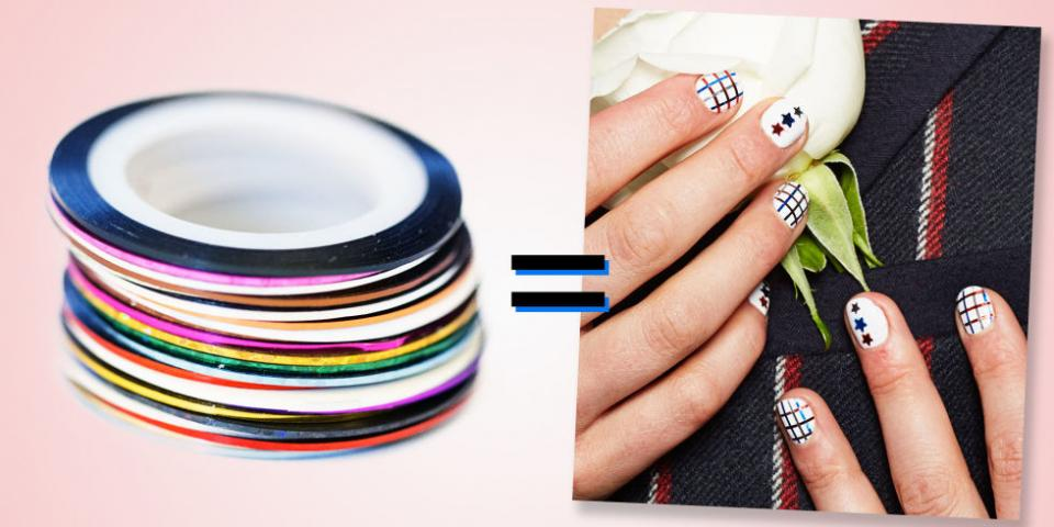 You'll be able to create whatever nail designs you want with an arsenal like this on hand.