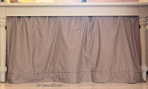 15. Or sheets into no-sew curtains.