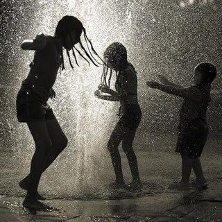 Play in the rain