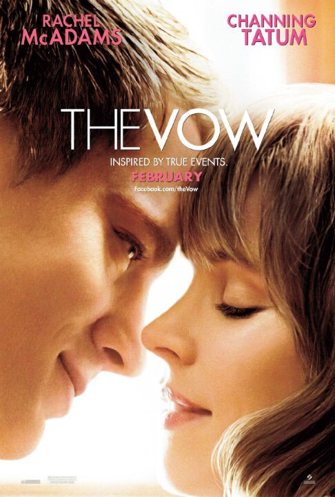 The Vow (2012)   What happens when your wife looses her memory and you have to make her fall in love with you again?  It will leave you wanting a love so true that your husband would do anything and everything to win you back.  And I mean Rachel McAdams and Channing Tatum?