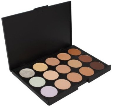 Concealer can be used to cover dark circles, redness and irritation, and even be used to contour and highlight if you don't have powder to do it.