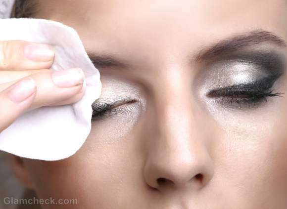 remember to always remove makeup at the end of the night and cleanse your face with a mild soap.