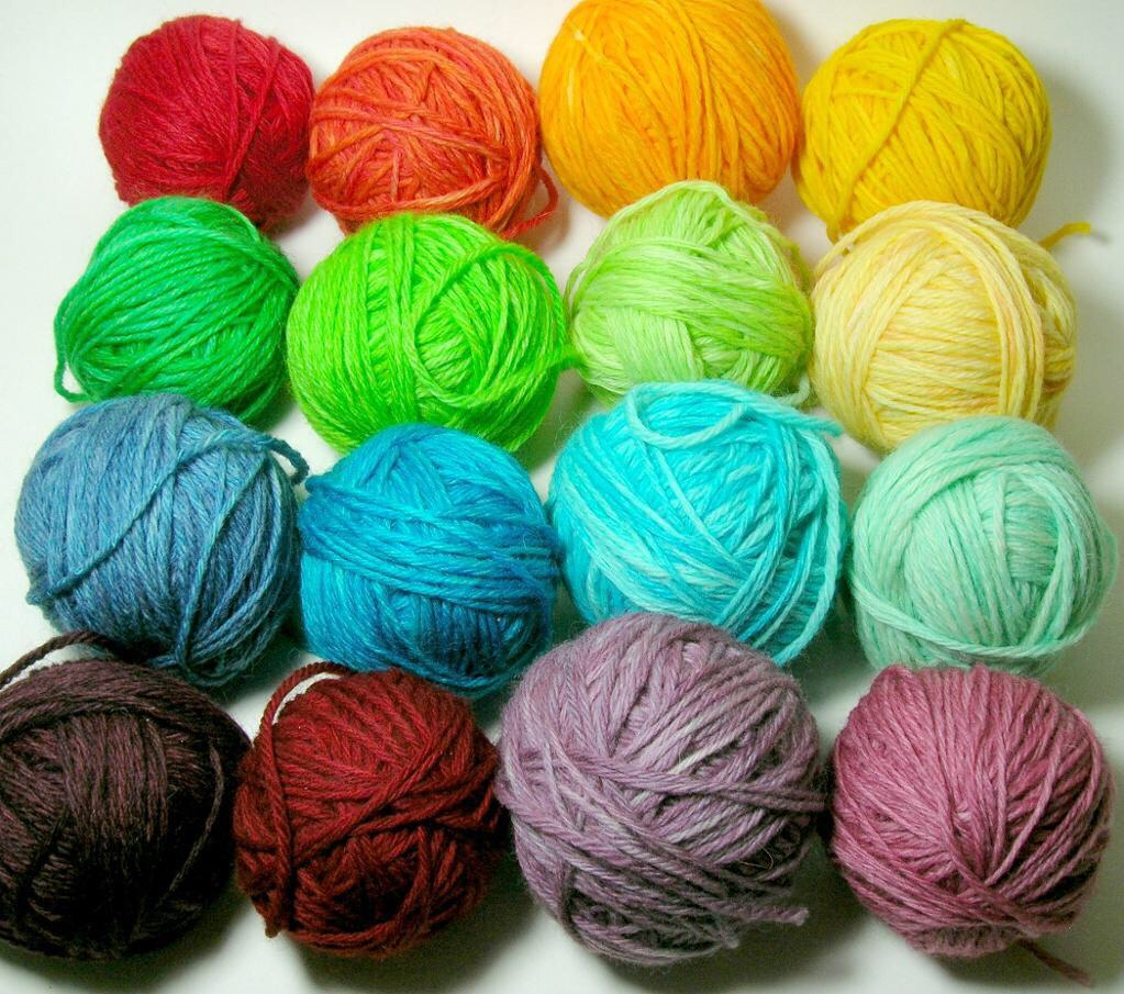 What you need:  Yarn